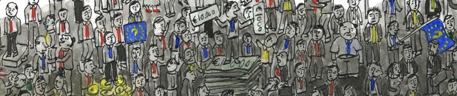 Detail uit de illustratie: Tjarko van der Pol (in opdracht van De Correspondent)