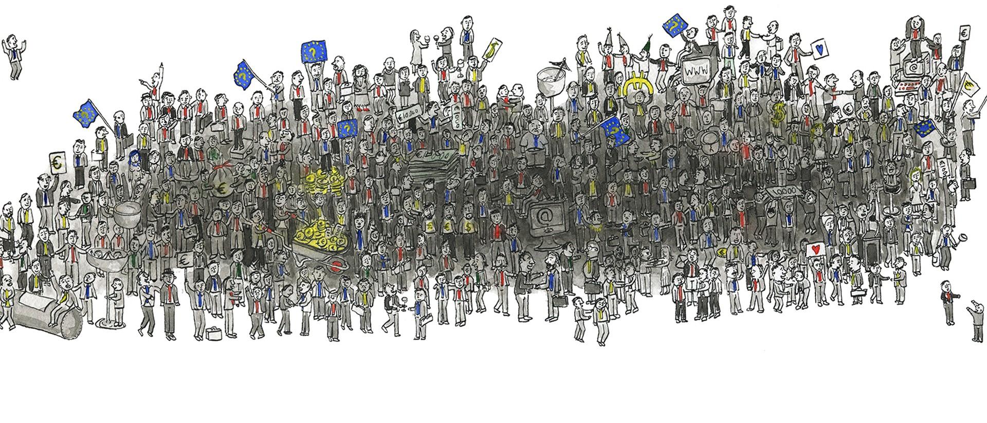 Illustratie: Tjarko van der Pol (in opdracht van De Correspondent)