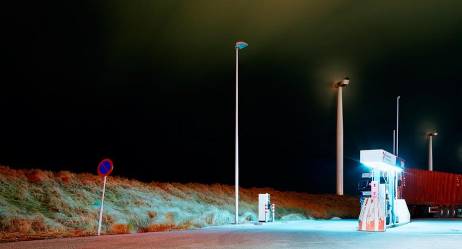 Dieselpomp op de Maasvlakte in Rotterdam. Foto: Mischa Keijser/Hollandse Hoogte