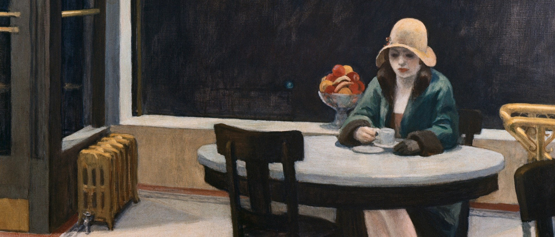 automat edward hopper essay Edward hopper is a quintessentially american painter who is revered for his pastoral oil paintings, snapshots of modern life and deft ability to capture nuanced, natu.