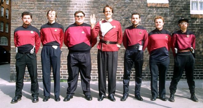 Trekkies in Londen, tijdens Star Trek conventie in 1994. Foto: Hollandse Hoogte