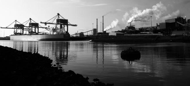 Het staalbedrijf Tata Steel in IJmuiden. Foto: Bas Beentjes/Hollandse Hoogte