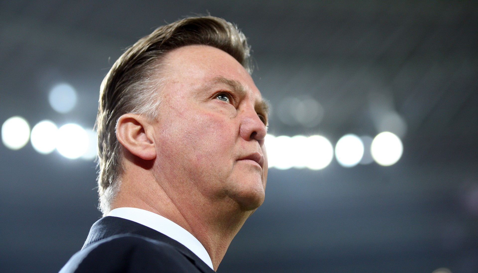 Louis van Gaal during the World Cup in Brazil. Photo: Stefan Matzke/Hollandse Hoogte