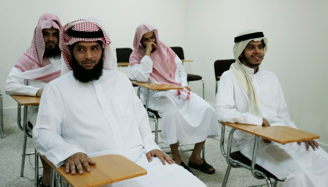Het Mohammed bin Nayef Centre for Counselling and Care, een soort deprogrammeringsinstituut voor extremisten, in Saoedi-Arabië. Foto: Hollandse Hoogte