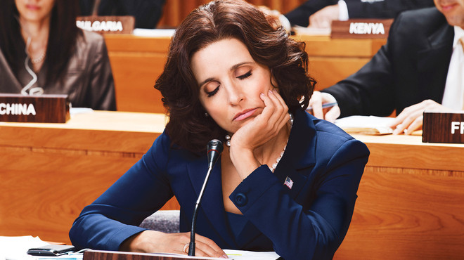 Julia Louis Dreyfus in de HBO-comedy 'Veep.'