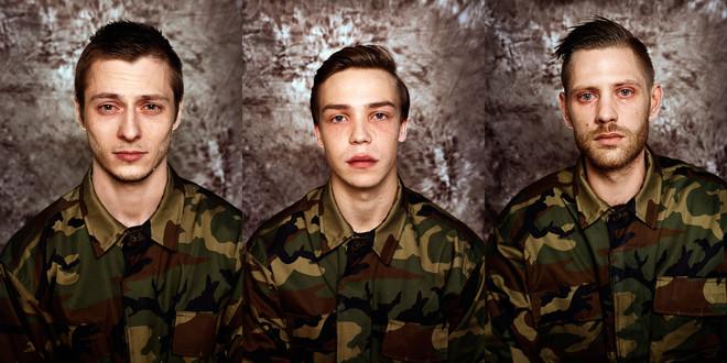De portrettenserie met de titel 'Zij wonnen de loterij' van de fotografe Neringa Rekaši?t?.