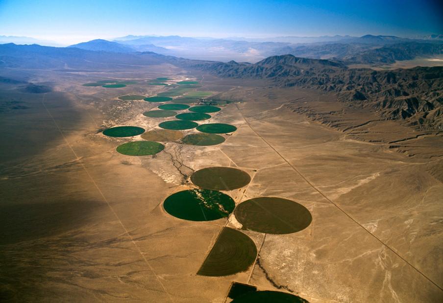 Landbouw in Nevada (Verenigde Staten). Foto: Jim Wark / Hollandse Hoogte