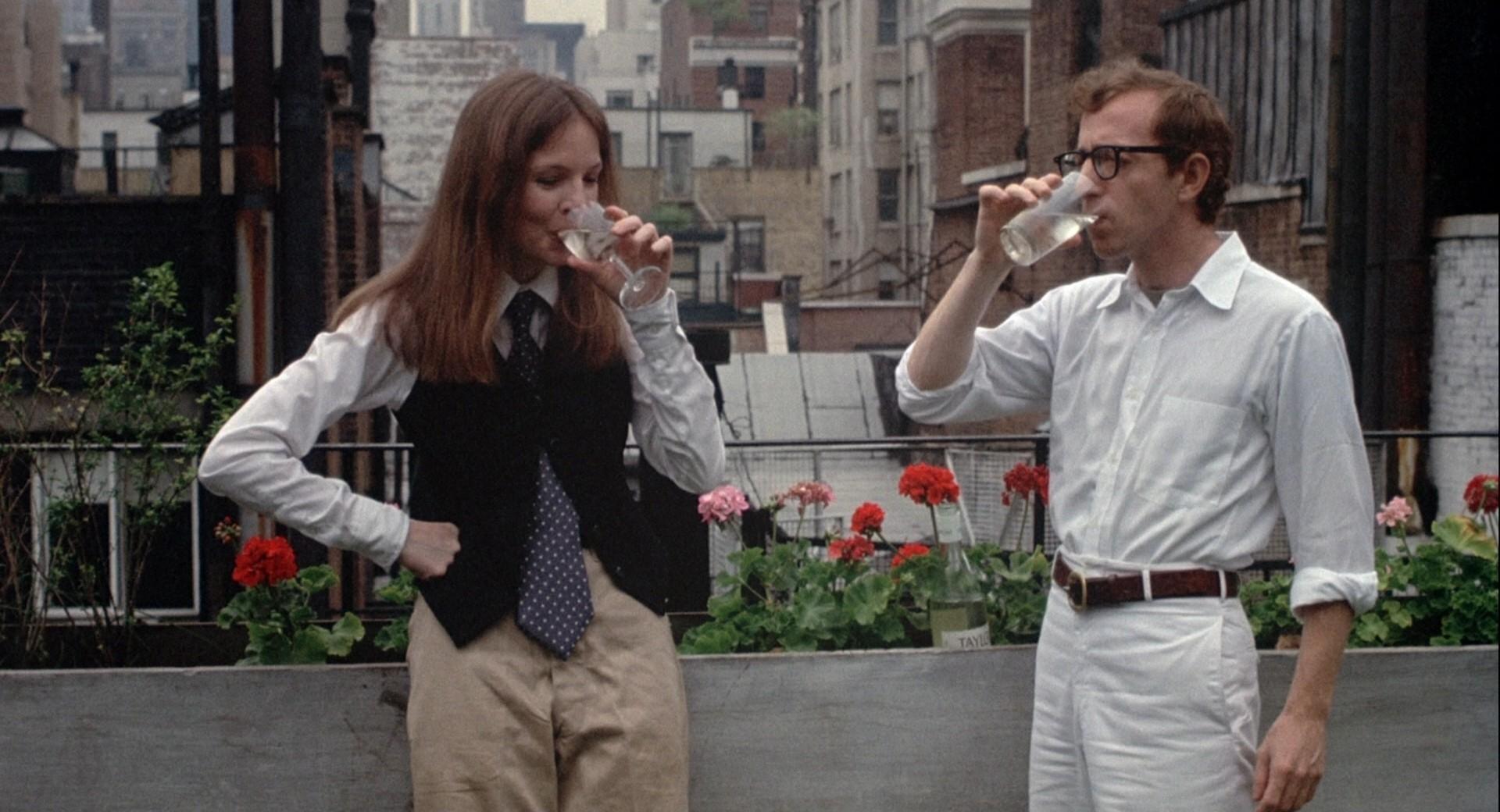 Scene uit de film 'Annie Hall' (1977)