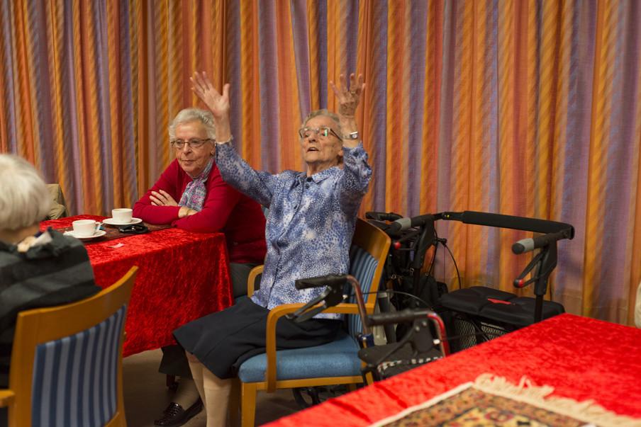 Uit de serie 'Danspaleis'. Foto: Romi Tweebeeke/Hollandse Hoogte