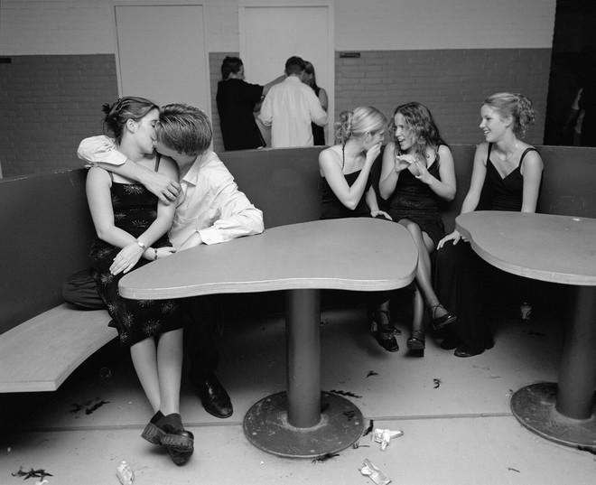Uit de serie 'School' gemaakt in 2001. Foto: Ellen Kok / Hollandse Hoogte