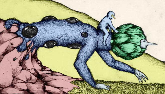 Illustratie: Olf de Bruin (voor De Correspondent)