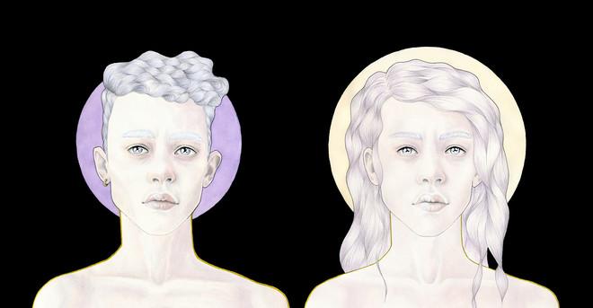 "Details uit 'Utopia I & II"". Illustratie: Hilde Atalanta"