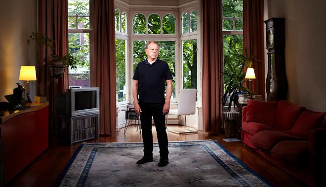 Bas Heijne. Foto: Marijn Smulders (voor De Correspondent)