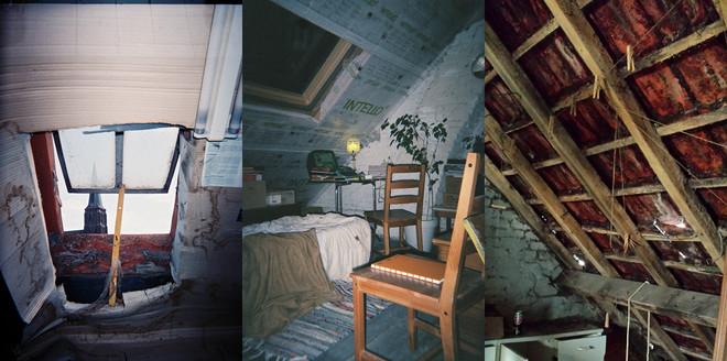 Huizen in een arme negentiende-eeuwse Gentse wijk, voordat ze worden opgeknapt binnen het project 'Dampoort knapT OP!'. Foto's: OCMW Gent