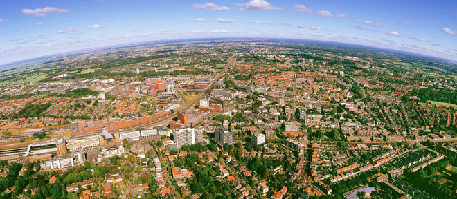 The city of Amersfoort, the Netherlands. Photo by Robbert Frank Hagens / HH