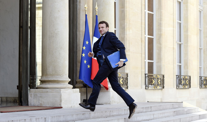 Emmanuel Macron. Foto: Alain Jocard / AFP