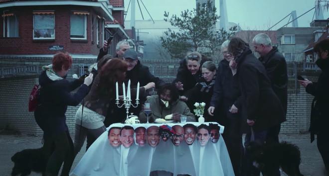 Still uit de videoclip Witlof van Fresku & MocroManiac (prod. Pablo Penton & Teemong)