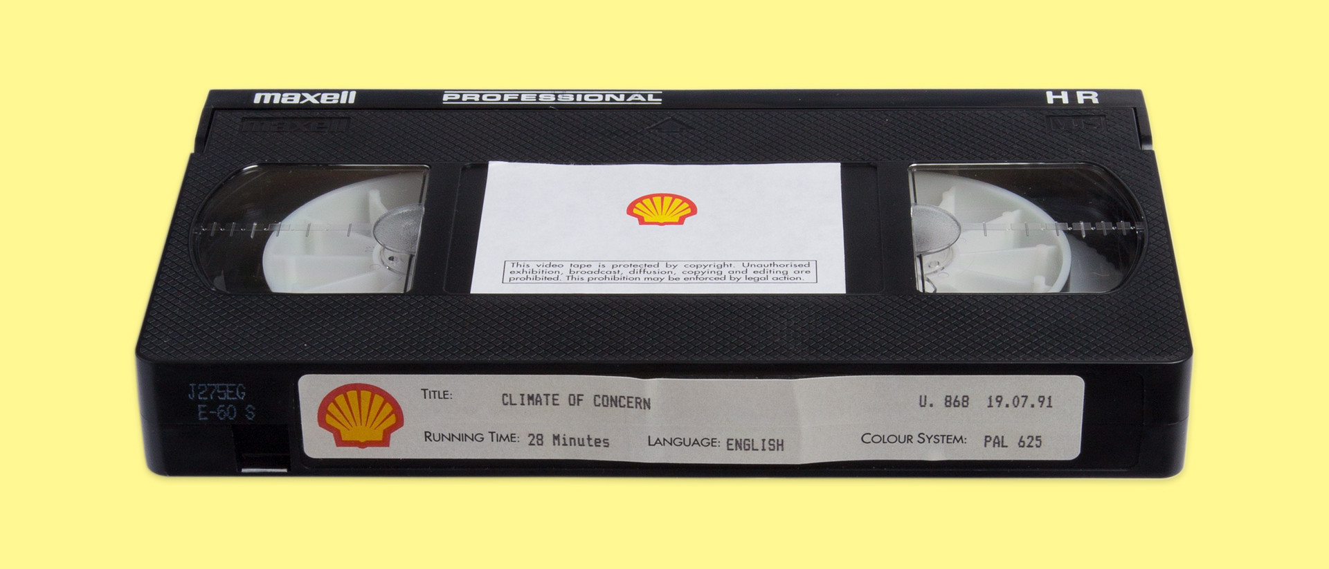 Exhibition Shell Quotes : Shell made a film about climate change in then neglected to