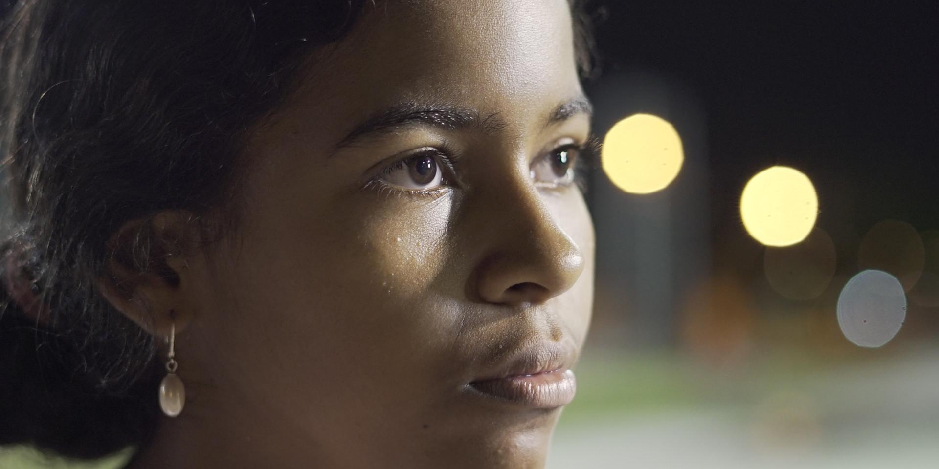 Zwarte lesbische met grote buit
