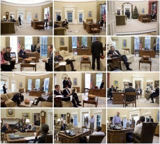 3. Het wachten. Foto's: Pete Souza/the White House