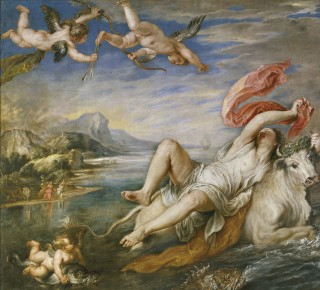 Rubens - De Verkrachting van Europa. Bron: Wikimedia Commons
