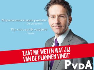 De Facebookpost van de PvdA een dag na Prinsjesdag.