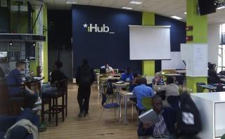 De iHub in Nairobi. Foto: Maite Vermeulen