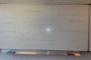 Gevraagd naar 21ste century skills noemden mijn leerlingen zaken als 'zelfstandigheid' en 'Engels spreken', maar ook: 'egoïsme' en 'autorijden'.