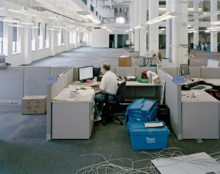 'George Carter, Assistant National/Foreign Editor, Weekend of Move, 5:18 pm, 2012'. Foto: Will Steacy