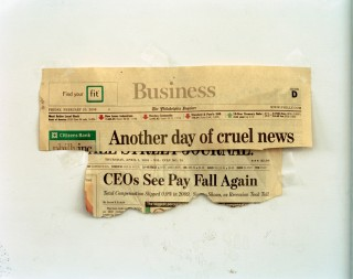 'Another Day of Cruel News, 8:52 am, 2012'. Foto: Will Steacy
