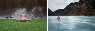 Twee foto's uit het Tutu Project. Foto: Bob Carey Photography