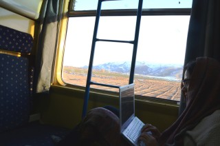 De treinreis van Teheran naar Shiraz. Foto: Shiva