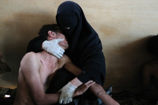 World Press Photo of the Year 2011. Foto: Samuel Aranda (published in The New York Times)