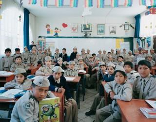Groep 4 op de basisschool Colegio Nacional De Ciencias in Cusco, Peru. Foto: Julian Germain/Nederlands Fotomuseum