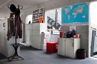 Het hoofdkantoor van de Internationale Federatie van het Rode Kruis in Genève. Foto: Pieter van den Boogert (voor De Correspondent)