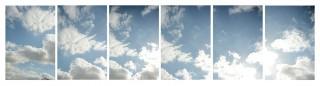 De lucht boven Eibergen. Foto's: Anne Geene