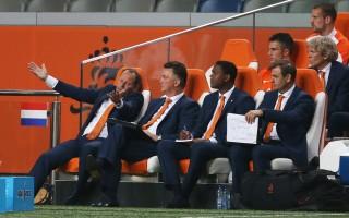 Tijdens de WK-oefenwedstrijd Nederland - Ecuador op 17 mei 2014. Foto: Hollandse Hoogte
