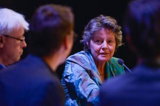 Aan het woord Dorette Corbey, zij was tien jaar lang Europarlementariër voor de PvdA. Foto: Bas Losekoot