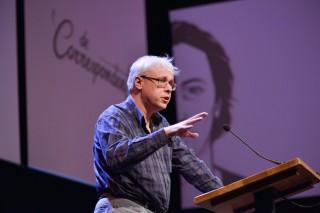 Patrick van Schie, directeur van de Teldersstichting, de aan de VVD gelieerde denktank. Foto: Bas Losekoot