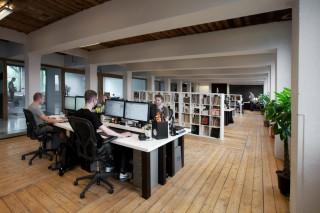 De studio van Momkai. Foto: Jeroen de Bakker