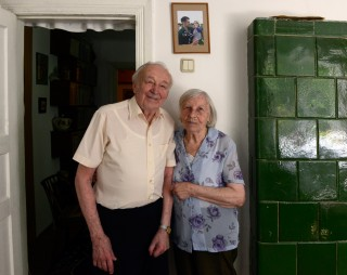Ljoebomir en Darina Poljoega verrichtten jarenlang dwangarbeid in de Goelag. Foto: Dolph Kessler