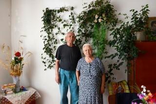 Michailo Oleksiowitsj heeft nog steeds nachtmerries als gevolg van de verdrijving in de jaren veertig. Foto: Dolph Kessler