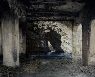 'Crues' (2012) uit de fotoserie 'Haven Her Body Was' van Noémie Goudal. Foto: Courtesy Noémie Goudal