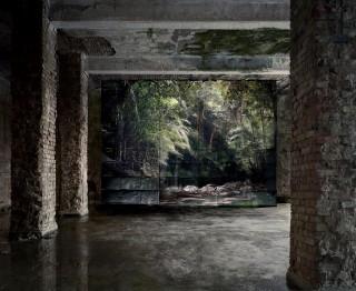 'Trail' (2012) uit de fotoserie 'Haven Her Body Was' van Noémie Goudal. Foto: Courtesy Noémie Goudal