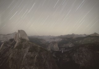 'KEYHOLE IMPROVED CRYSTAL, from Glacier Point (Optical Reconnaissance Satellite; USA 224)', 2011. Foto: Trevor Paglen/Courtesy of the artist; Metro Pictures, New York; Altman Spiegel, San Francisco; Galerie Thomas Zander, Keulen.