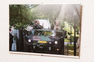 In oktober 2012 wordt op landgoed Bronbeek in Arnhem een monument onthuld voor gevallen Papoeastrijders die tot 1962 de Nederlandse militairen ondersteunden. Zowel Thommey als Ap waren uitgenodigd om daarbij aanwezig te zijn. Foto: Thomas Donker