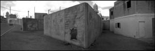 Tze'elim, replica van een Arabisch stadscentrum, gebouwd door het Israëlische leger om stedelijke gevechtsvoering na te bootsen. Foto: Josef Koudelka, Magnum Photos, Hollandse Hoogte