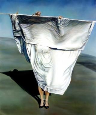 Untitled (Performance documentation) 2008, van kunstenares Ana Teresa Fernandes (Courtesy: Gallery Wendi Norris)