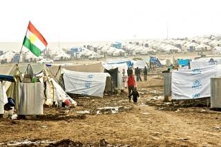 Het vluchtelingenkamp Domiz in Noord-Irak. Foto: Andreas Stahl