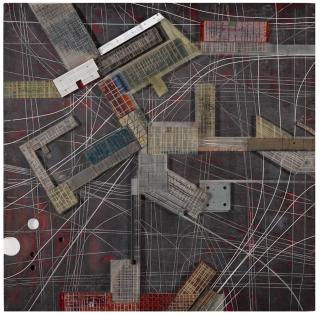 'Groep Sectoren', 1959, New Babylon. Constant Nieuwenhuys. Collectie Gemeentemuseum Den Haag.